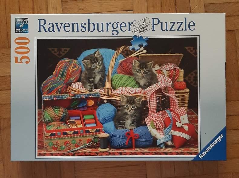30456 Katzen Puzzle