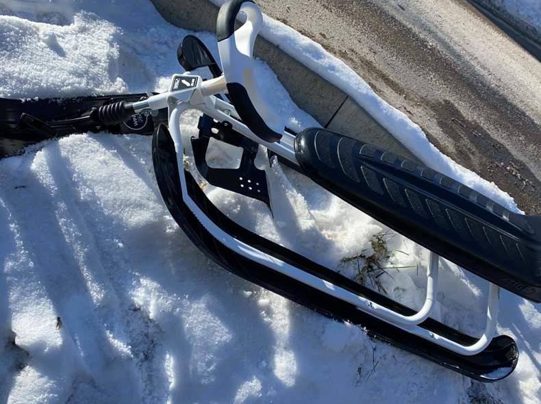 30630 Schlitten snowracer king size gt