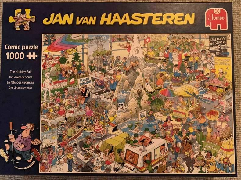 30783 Puzzle die Urlaubsmesse 1000 Teile