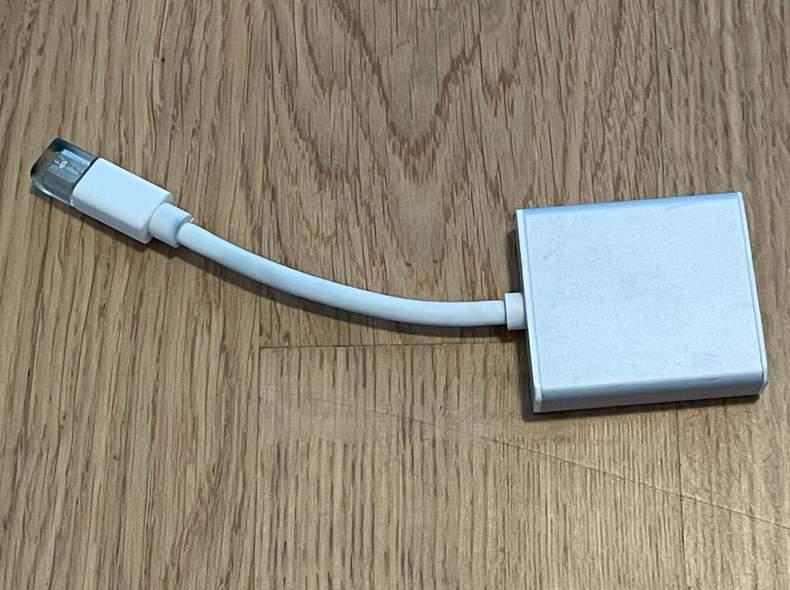 31472 Adapter Thunderbolt - DVI