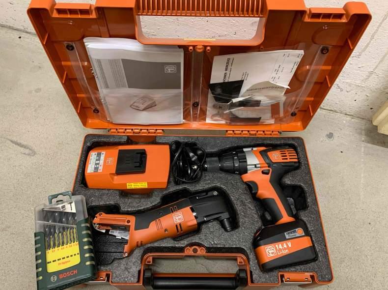 31670 FEIN Akku-Bohrschrauber Set