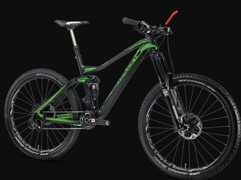 31925 Mountainbike, Fully, Simplon Kuro