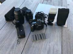 32170 Nikon D90 Spiegelkamera + Zubehör