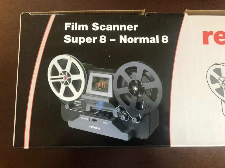 32722 Reflecta Film Scanner Super 8