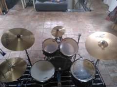 32861 Schlagzeug Drumset