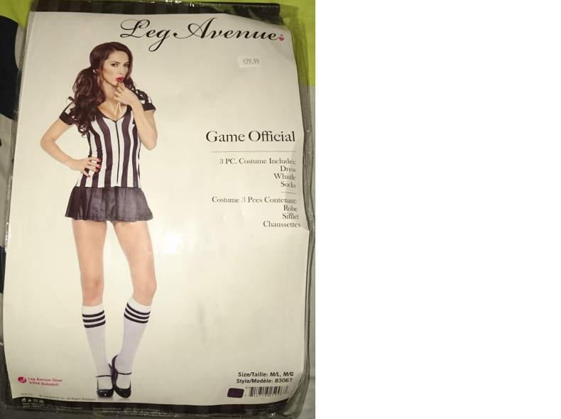 6020 Kostüm Schiedsrichterin Sexy