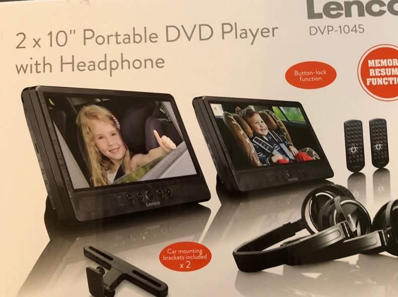 33194 Portable DVd Player