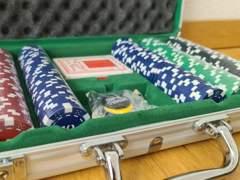 33319 Pokerkoffer Poker Set