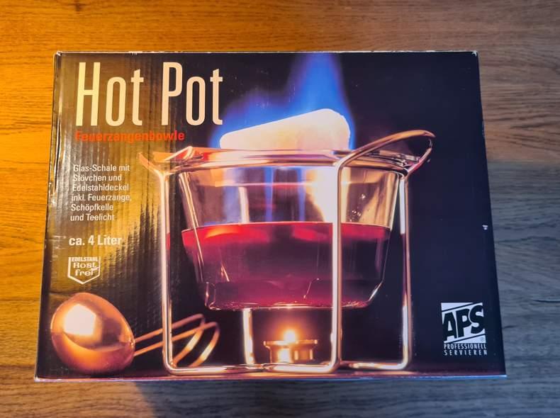 33407 Feuerzangenbowle Set Hot Pot