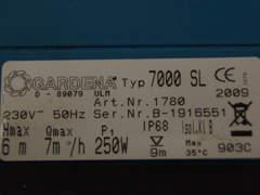 6030 Tauchpumpe, Wasserpumpe, Gardena