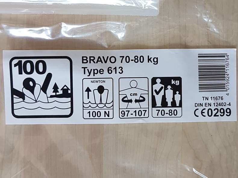 33704 Schwimmweste für 70-80kg