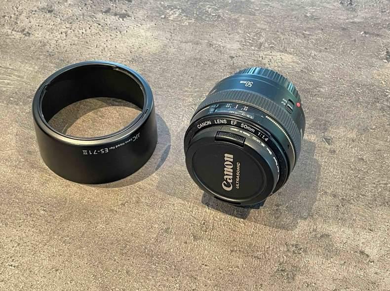 33788 Objektiv Canon 50mm Blende 1:1,4