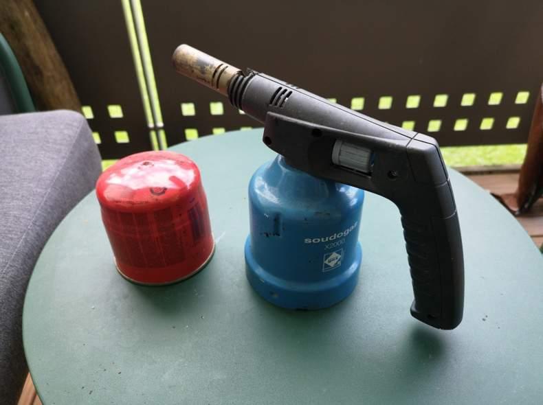 33911 Gasbrenner Bunsenbrenner