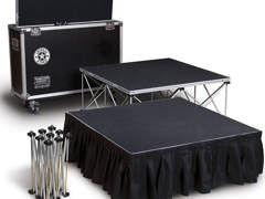 33944 Klappbare Bühne 4 Quadratmeter