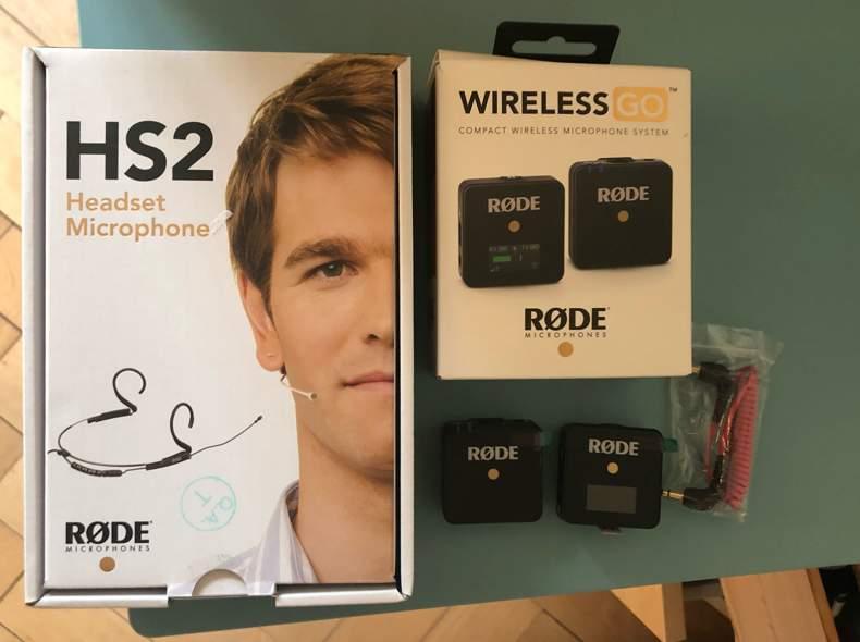 34079 RODE Headset Funkmikrofon