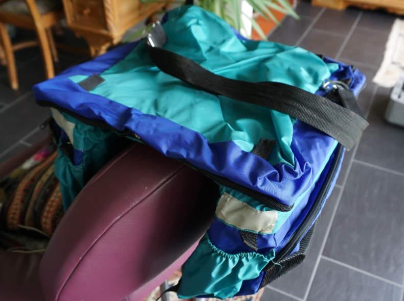 6049 Velogepäcktaschen 2 Stk. neuwertig