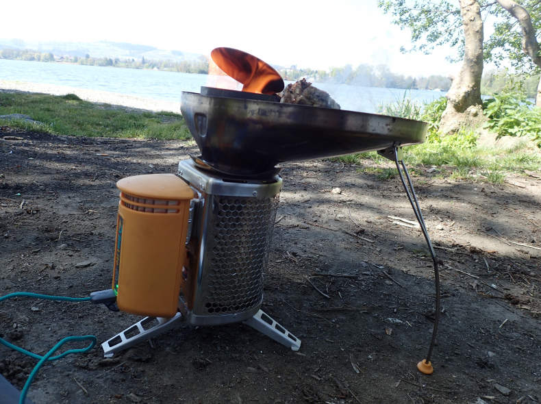 6118 BioLite Grill ideal für Wanderung