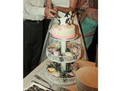 6208 Hochzeit: 3-stöckige Torten-Etagere