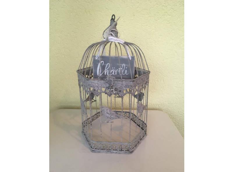 6209 Hochzeit: Vogelkäfig Vintage