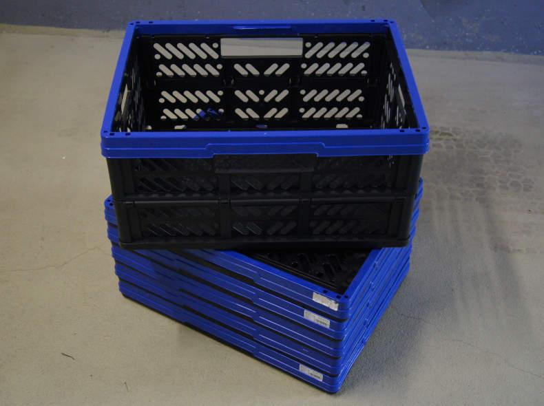 6272 6x Faltbox, Klappbox 32 liter (2)
