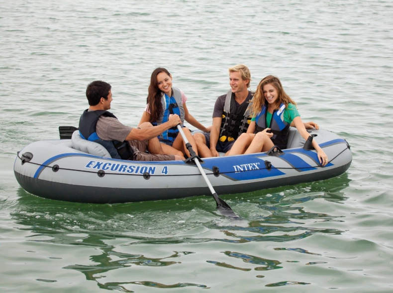 6365 Gummiboot / Schlauchboot für 4 Pers