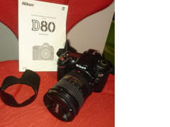 6482 Spiegelreflexkamera Nikon D80