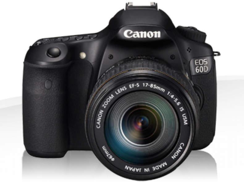 6507 Canon 60D APS-C Fotokamera 18MP