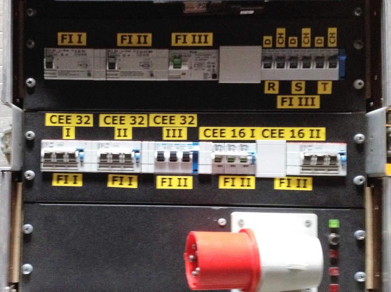 6514 Stromverteiler 63 A