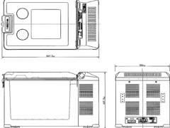 6555 Engel Schwingkompressor Kühlbox 32