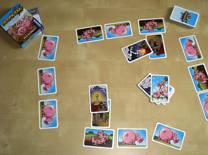 Kartenspiel Drecksau