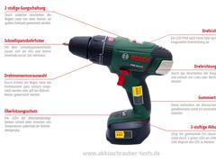 6678 Bosch Akkuschrauber/bohrer