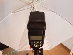6771 Foto Blitz mit Funk und Schirm