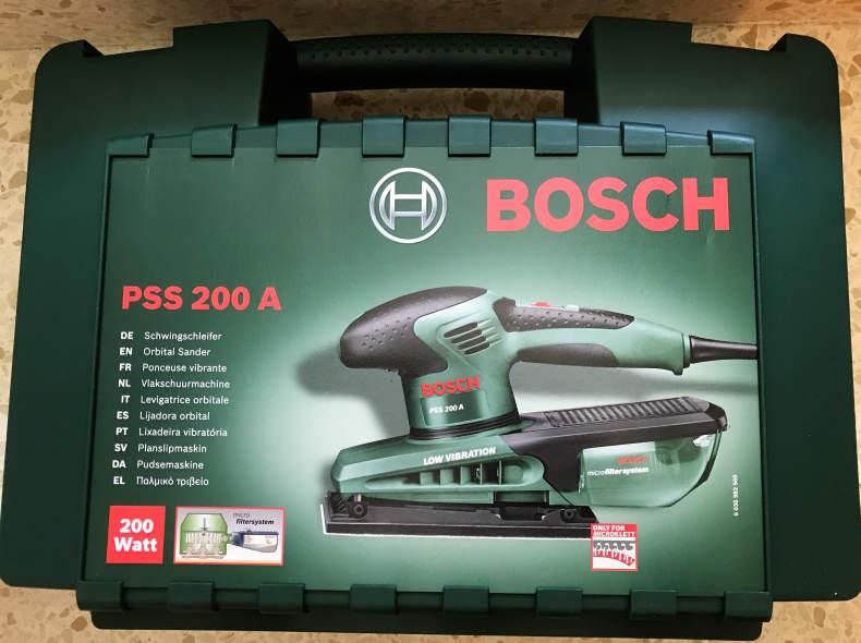 6780 Schwingschleifer Bosch PSS 200 A