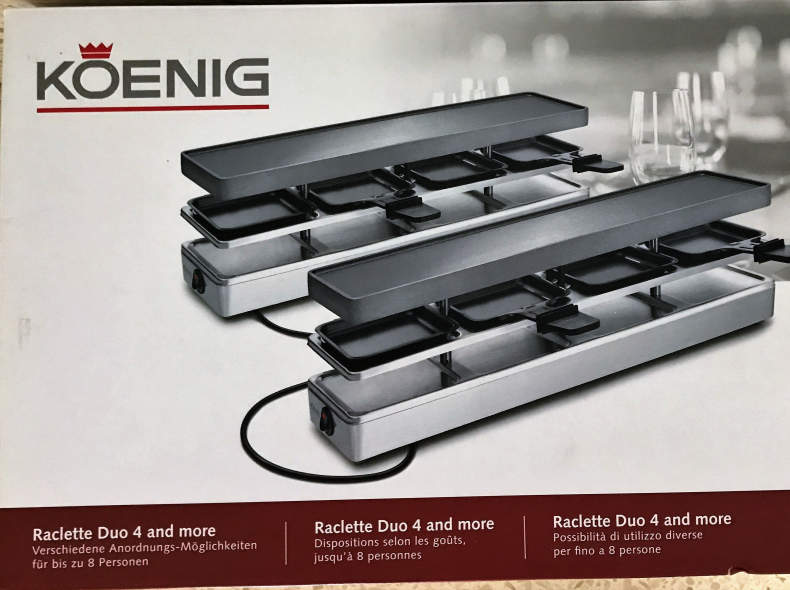 6781 Koenig Raclette Duo 4 and more