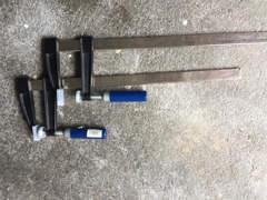 6806 Schraubzwingen, 2 Stück, 50cm