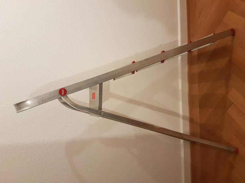 6835 Leiter 5 Tritt Aluminium 110cm