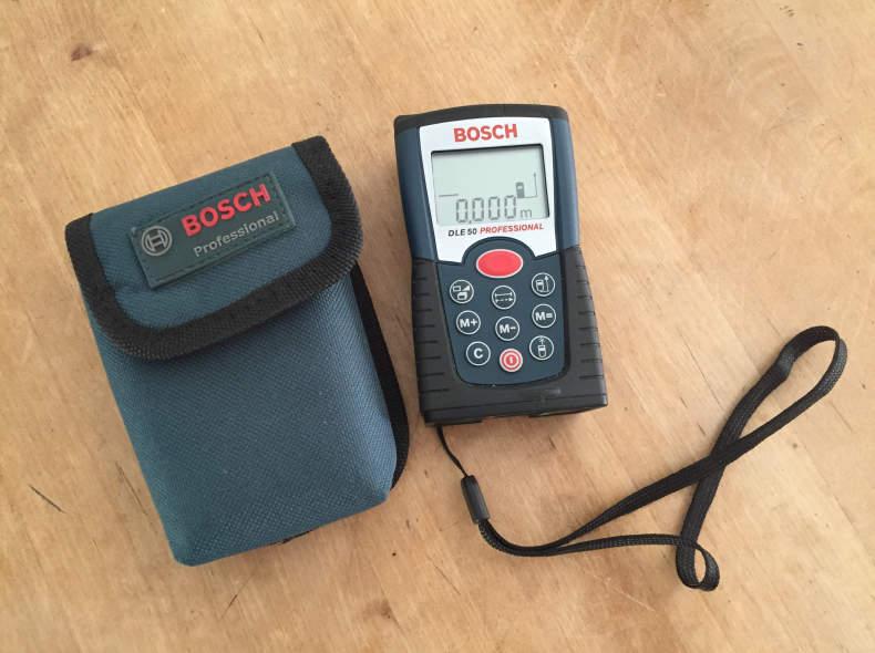 Bosch Entfernungsmesser Dle 50 Professional Bedienungsanleitung : Sharely laserdistanzgerät entfernungsmesser