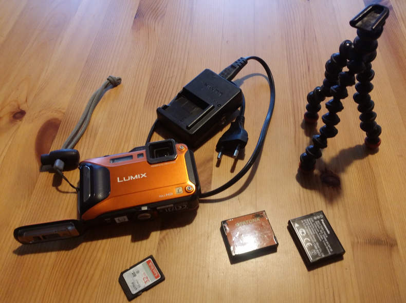 6894 Digitalkamera Unterwasser Panasonic