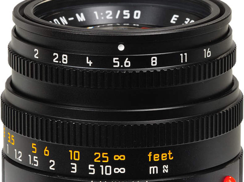 6912 Leica 50 mm f2 Summicron -M