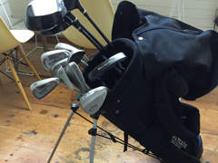 6939 Golfset in Golftasche