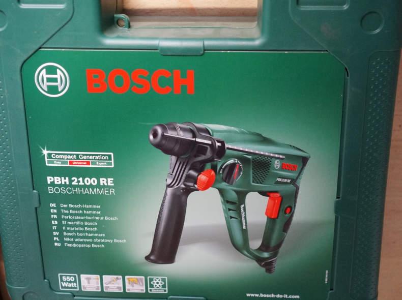7012 Bohrhammer inkl. Meissel und Bohrer