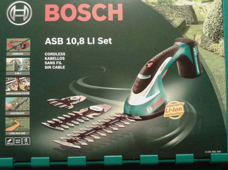 7046 Bosch Akku-Strauchschere