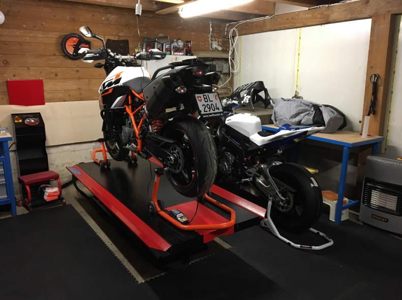 7144 Motorradwerkstatt