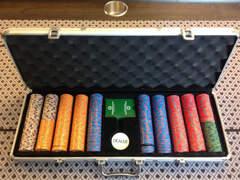 7380 Pokerset / Pokerchips / Cash Game