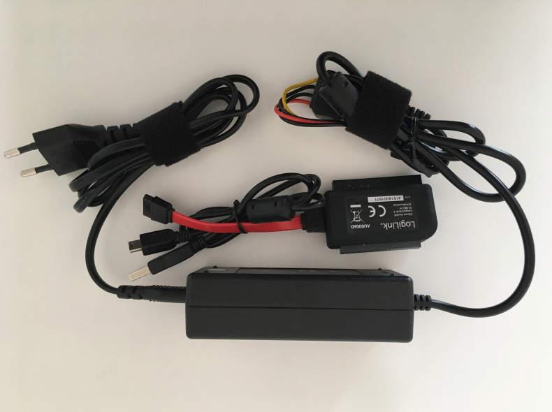 7406 SATA / IDE - USB Adapter