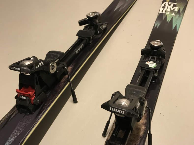 7561 Freeride Ski mit Tourenbindung