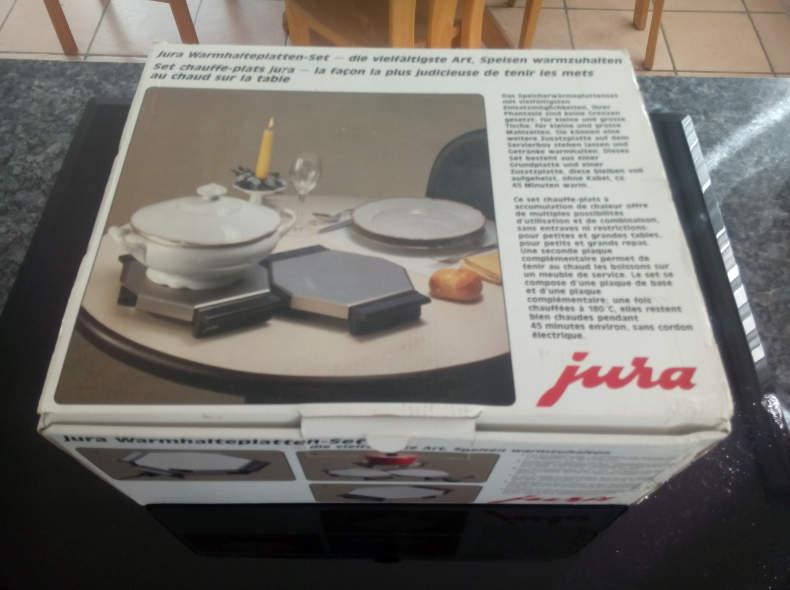 7852 2 Stück Wärmeplatten Jura