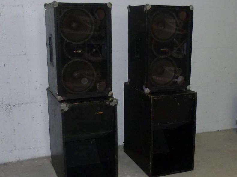 7865 Lautsprecher PA-Anlage für Partys