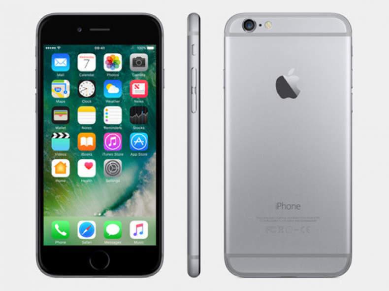 7969 Apple iPhone 6 64GB Space Grau