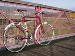 """7999 Retro Bike im Fixie Style 28"""""""